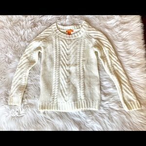 JOE FRESH Chunky Cable Knit Sweater-Small